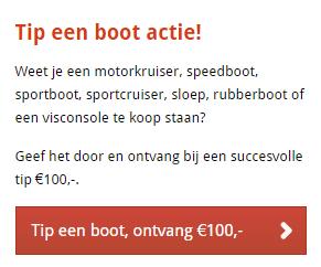 Contantgeldvoorjeboot - Boot verkopen